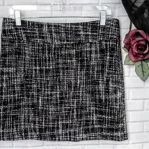 The Limited Wool Blend Tweed Lined Skirt Career